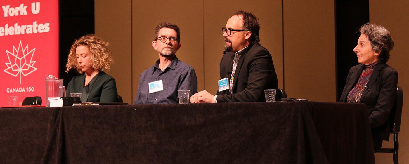 keynote panel at 2017 Ontario Climate Symposium