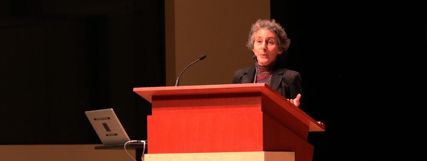 Julia Langer speaks at 2017 Ontario Climate Symposium