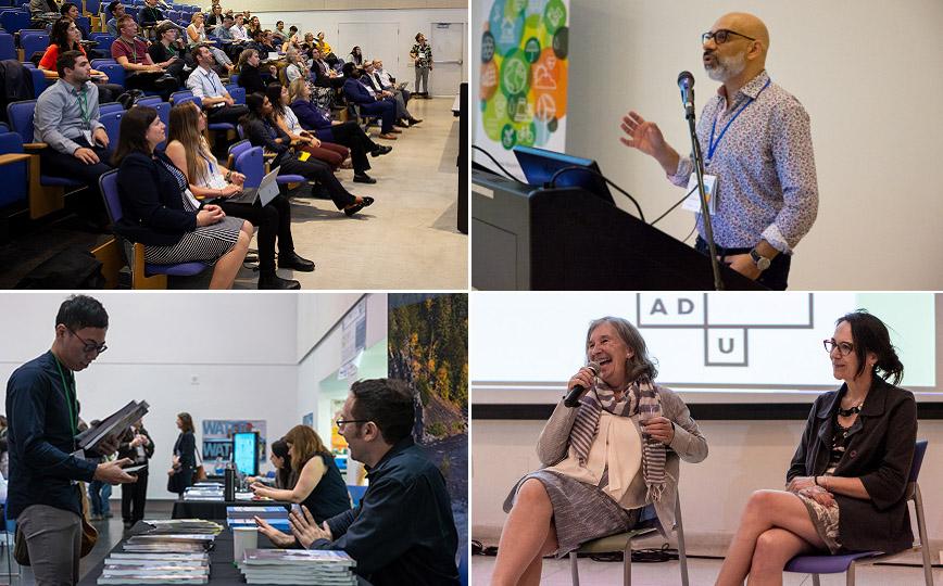 scenes from 2018 Ontario Climate Symposium
